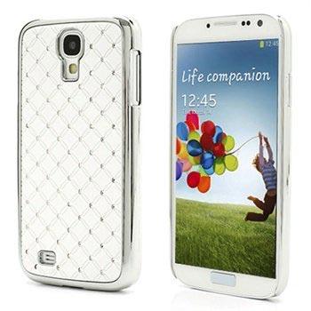 Samsung Galaxy S4 I9500, I9505 Bling Diamond Cover - Hvid