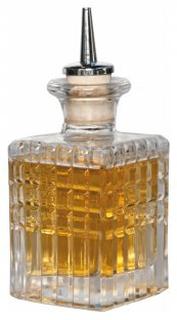 Stänkflaska 10 cl i glas med droppkork