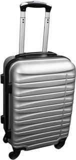 Liten kabinväska - Grå - hård ABS/polycarbonat
