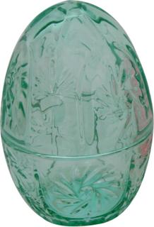 Påsk Hedlund Glasägg/lock 10x10x14 cm Grön