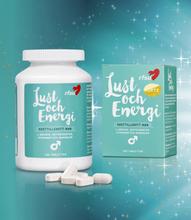 Lust och energi Man