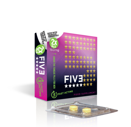 FIVE Instant Erektionshjälp - 2 tabs