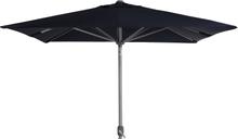 Andria parasoll Blå olefin 2,5 x 2,5 m