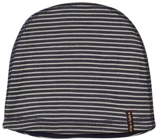 Mini A Ture Barrit Beanie Blue Nights 2-3 år