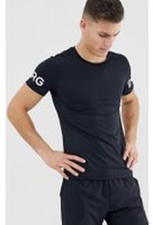 Bjorn Borg Performance Borg logo t-shirt - Black