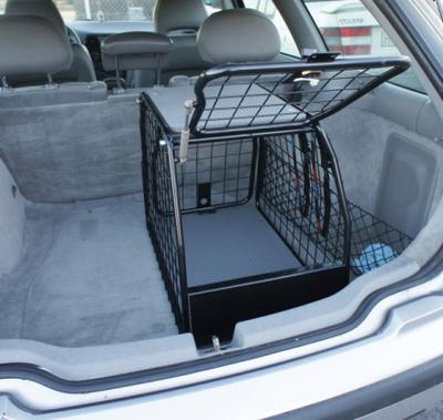 Artfex Hundbur Audi Q3 2011- LT-S för bil med lasttröskel
