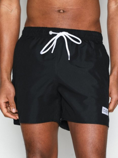 Frank Dandy Breeze Long Swim Shorts Badkläder Black