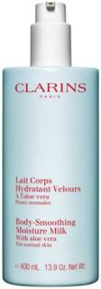 Clarins Body-Smoothing Moisture Milk 400 ml Transparent