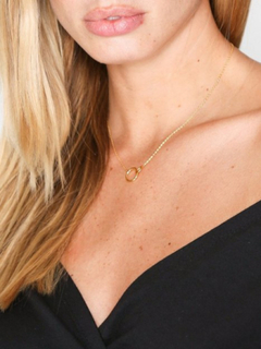 SOPHIE By SOPHIE Mini Circle Necklace Halsband