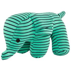 Geggamoja Elephant Mjukisdjur Grön/Marinblå