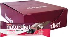 Måltidsersättning Bars Raspberry & Liquorice 18-pack - 28% rabatt