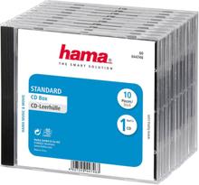 Hama Cd-box Standard 10-pack Blå