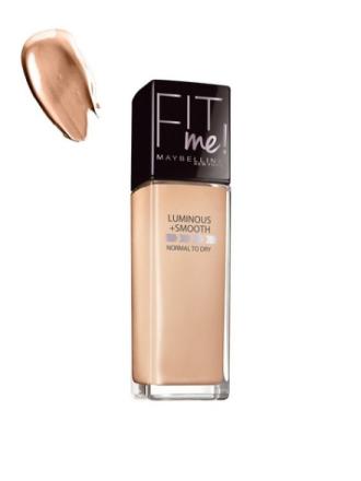 Foundation - Soft Honey Maybelline New York Fit Me Foundation Luminous & Smooth