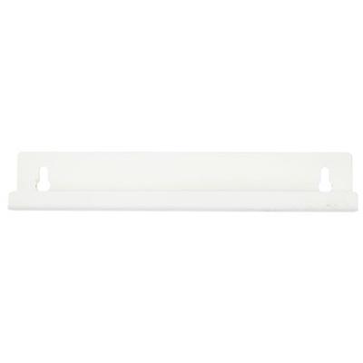 Vægbeslag, hvid, til 4,45, 8 og 15 l plast spande m sving låg