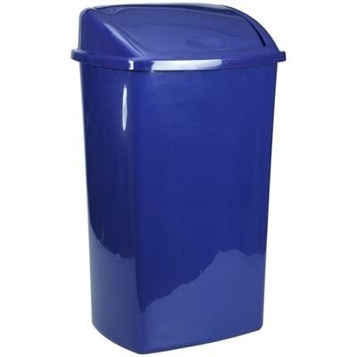 Affaldsspand, 26 l, blå
