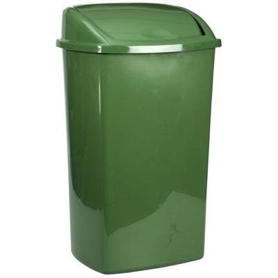 Affaldsspand, 26 l, mørkegrøn