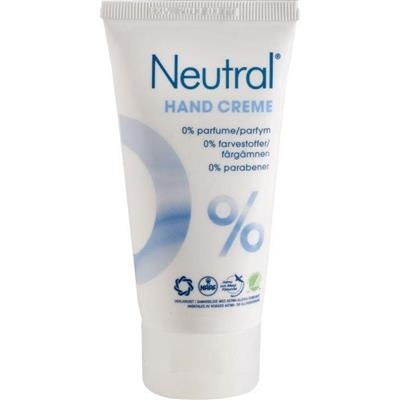 Håndcreme, Neutral, 75 ml, uden farve og parfume, 20% fedt