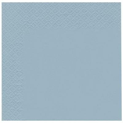Frokostserviet, Abena Gastro-Line, 2-lags, 1/4 fold, 33x33cm, lyseblå, 100% nyfiber