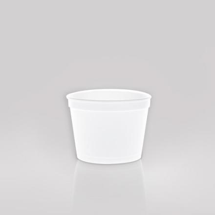 Termoskål hvid 350ml (12oz) 500stk/kar F12