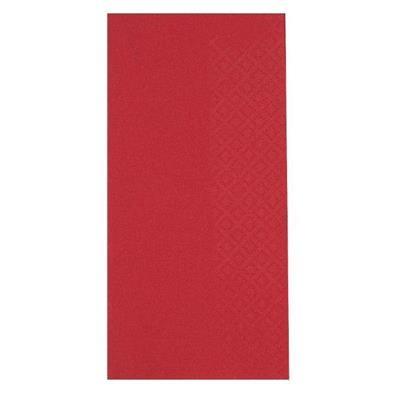 Frokostserviet, Abena Gastro-Line, 2-lags, 1/8 fold, 33x33cm, rød, 100% nyfiber