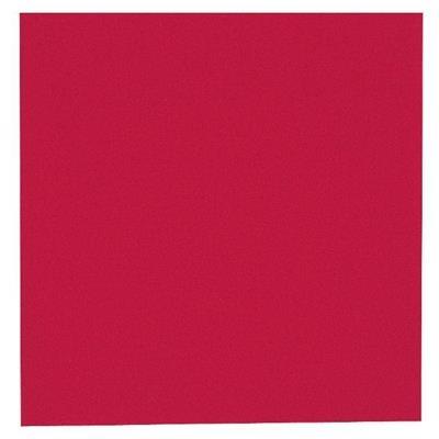 Kaffeserviet, Abena Gastro-Line, 2-lags, 1/4 fold, 24x24cm, rød, 100% nyfiber