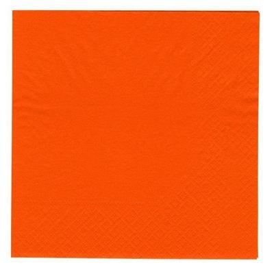 Frokostserviet, Abena Gastro-Line, 2-lags, 1/4 fold, 33x33cm, orange, 100% nyfiber