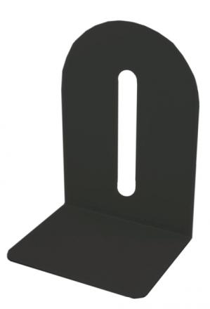 Bogstøtte metal sort 15cm