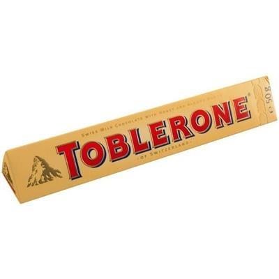 Chokolade, Toblerone *Denne vare tages ikke retur*