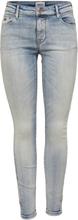 ONLY Onlcarmen Reg Ankle Skinny Fit Jeans Women Blue