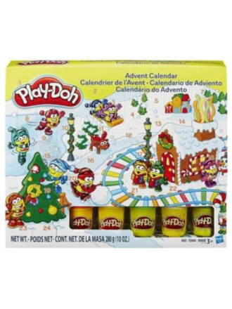 Advent Calender - Play-Doh