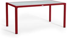 Grande table rouge scarlet