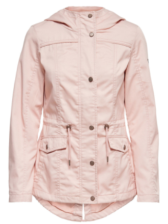 ONLY Solid Jacket Women Pink