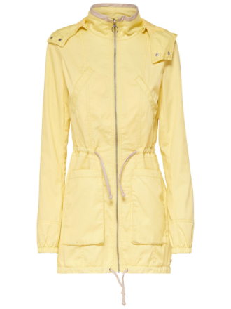 ONLY Solid Jacket Women Yellow