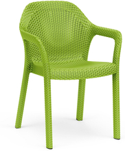 Chaise empilable vert pomme