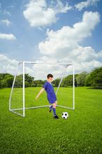VINI Fodboldmål - 194 x 158 x 110 Cm