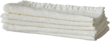 Washed linen servetti offwhite