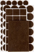 Möbeltass (set) brun, 106 delar