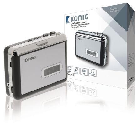 Koning kassett-mp3 Converter