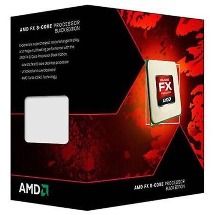 AMD Fx-8350 Cpu, Am3 +, 4.0 ghz, 8 kjerner, 125w, 16 mb Cache, 32nm...