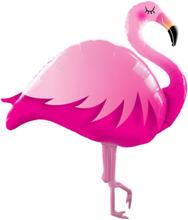 Formstøpt Flamingo Folieballong 117 cm