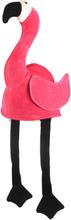 Rosa Flamingo Hatt med Hengende Bein