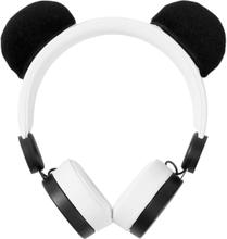 Nedis On-Ear Hodetelefoner med Avtagbare Ører - Panda