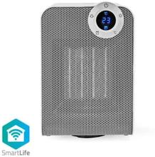 Nedis Smart värmefläkt med Wi-Fi   Kompakt   Termostat  1800 W   Vit