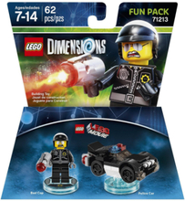 Lego Dimensions: Fun Pack - Lego Movie Bad Cop /Toys for games