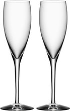 Orrefors - More Champagneglas 18 cl 2-pack