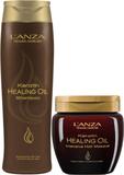 Lanza Keratin Healing Shampoo + Masque