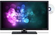 """Luxor 24"""""""" Husbils-TV m. DVD och USB 12 Volt"""
