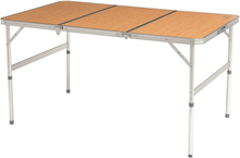 Easy Camp Hopfällbart bord Laval bambu 180x80x70 cm 540019