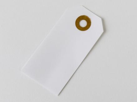 Manillamærker vandfaste 4x8cm nr.52 m/patentring