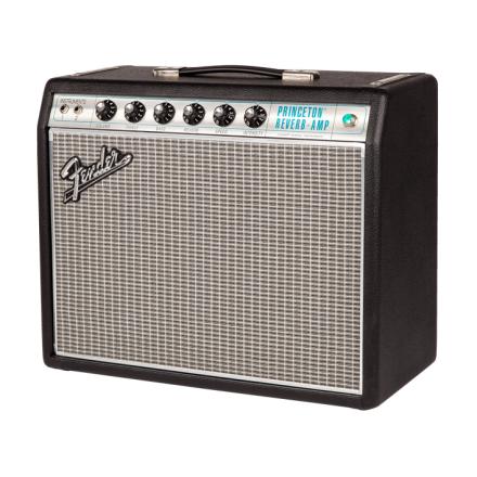 Fender 68CustomPrincetonReverb gitarforsterker black silver